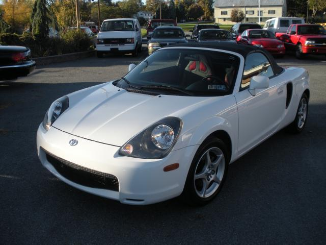 Cars inspiration toyota mr2 spyder white